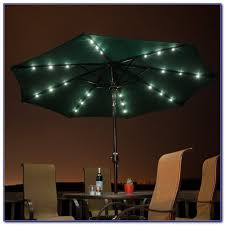 Solar Led Patio Umbrella by Patio Umbrella With Solar Lights And Bluetooth Speaker Patios