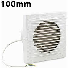 wolketon badlüfter 100 mm wandlüfter ventilator lüfter für bad wc küche wandventilator badezimmer wand niedrigem energieverbrauch weiß