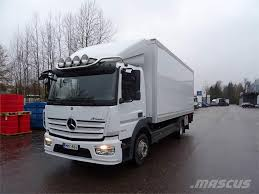 Mercedes-Benz ATEGO 1224L Viileäkori +PL_van Body Trucks Year Of ...