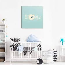 photo chambre bébé tableau chambre bébé animaux collection enfants