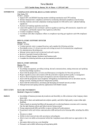 Download Regulatory Officer Resume Sample As Image File