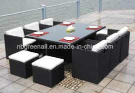 Gardenline Outdoor Furniture Cover by China Outdoor Indoor Rattan Cube Dining Table Garden Line Patio