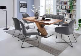sitzbank tessera in grau kunstleder und kufengestell anthrazit lackiert küchenbank polsterbank 160 cm