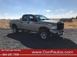 Used 2003 Dodge Ram 2500 4WD Quad Cab 6.3 Ft Box ST For Sale In ...