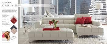 sofia vergara collection santorini microfiber sofa sofas center