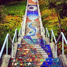 escalinatas picture of 16 avenue tiled steps san francisco