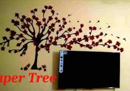 Wall Decoration Step By Diy Dahlias Hgtv Butterfly Ye Paper Craft Ideas For