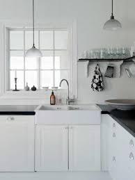 küche schwarz weiß gestalten spannende kontraste otto