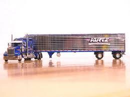 100 Kurtz Trucking 164 DCP 31491 Kenworth W900l Studio Sleeper Reefer