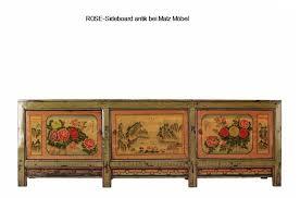 sideboard antik rot grün xl matz möbel vintage designermöbel