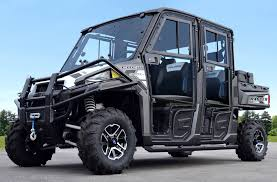 Polaris Ranger XP900 Crew Clearview Cab by Curtis