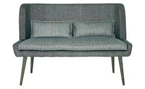 Upholstered Bench Seat Seating With Back Dining Room White Wood Settee Nz