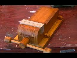 home made wooden vise woodworking part one youtube