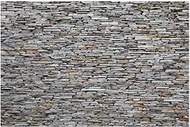bilderwelten fototapete steintapete mallorca stonewall vliestapete querformat tapete steinoptik grau vlies wandbild steinwand stein mauer