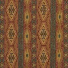 J9600J Southwestern Striped Geometric Woven Novelty Upholstery Fabric By The Yard