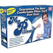 Amazon My Pillow Classic Series Bed Pillow Standard Queen