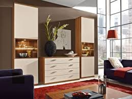 rmw rietberger cremona wohnwand manhattan 3 teilig vorschlagskombination v6693 für wohnzimmer lack crema beleuchtung wählbar