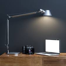 Tolomeo Desk Lamp Parchment Shade by Tolomeo Floor Lamp Intended For New Property Desk Plan Micro Size