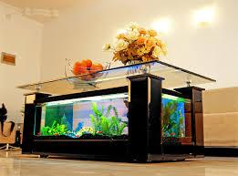 un salon unique grâce à la table basse aquarium ma table basse