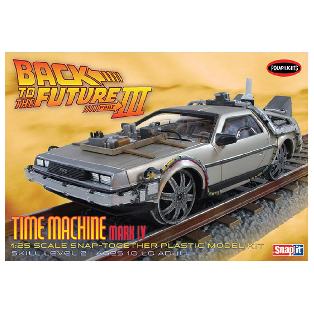 Polar Lights Back to The Future III Final Act Time Machine POL932 Model Kit