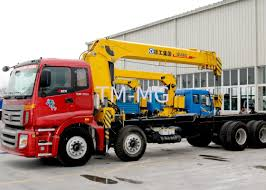 100 Truck Mounted Crane Best Sales 14 Ton Telescopic Boom Driven By
