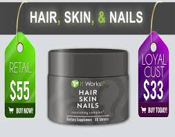 It Works Hair Skin And Nails True Story Youtube