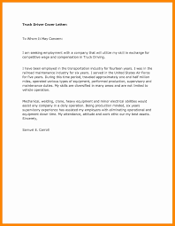 Class B Truck Driver Cover Letter Best Sample Resume For With No Experience