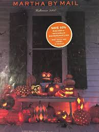 Grandin Road Halloween Catalog by Vintage Halloween Collector Martha Stewart Halloween Flashback
