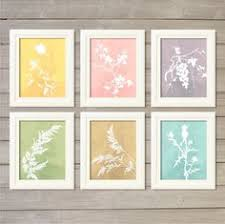 Spring Floral In Watercolor Set Of 6