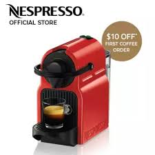 Inissia Coffee Machine Red