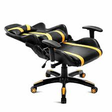 Bumble-Bee Racer HighBack Ergonomic Reclining Gaming Chair Xbox PS4 ... Playseat Forza Gaming Chair Unboxing And Assembly Youtube Amazoncom Challenge Nascar Edition Racing Video Game Buy Gaming Chair Dxracer Racing Series Best X Rocker Gaming Chairs Buyer Guide Reviews F1 Seat Red Bull Rf00070 Bh Photo Office Ergonomic Computer Desk More Canada Elecwish Chair Pu Leather Silver For Playstation 2 3 Gtr Simulator Gta Model With Real Driving Foldable Blue Dxracer R90 Ackbluewhite Dubai Uae Prime Review A Superb Starter Racing Seat Gamers