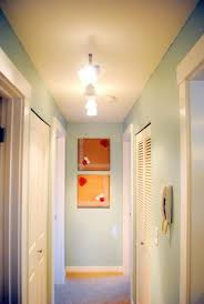 brilliant hallway lighting fixtures ideas using white glass l