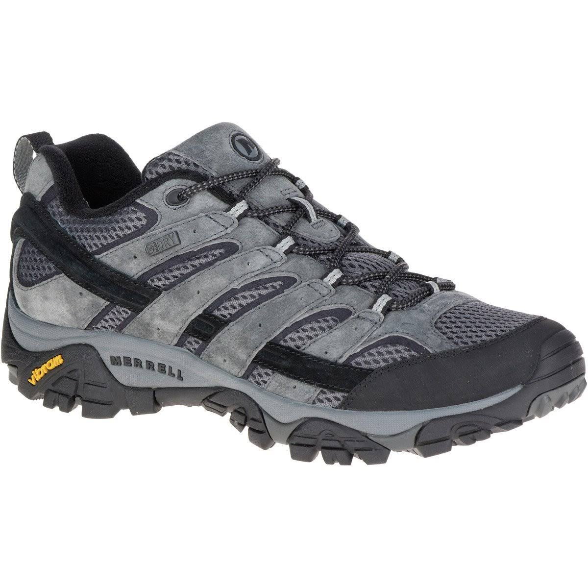 Merrell Men's Moab 2 Waterproof Hiking Shoes - Granite, 9 M US