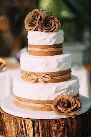 Burlap Wedding Cakes Best 25 Ideas On Pinterest Cake