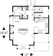 One Level House Floor Plans Colors One Bedroom Houses Floor Plans Home Design
