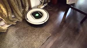 Roomba For Hardwood Floors Pet Hair by Irobot Roomba 765 Pet Test Youtube
