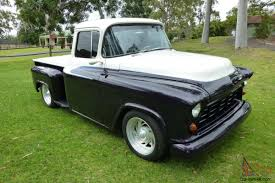 1956 Chevrolet Task Force Show Truck In Ashmore, QLD 1956 Chevrolet Truck For Sale Hrodhotline Pickup Stretched Chevy Truckin Magazine File1957 4400 Truckjpg Wikimedia Commons Automotive News 56 Gets New Lease On Life 1957 Chevy Trucks Front Color Classic 3100 Fleetside Sale 4483 Dyler Chevrolet 1300 Pickup Truck Hot Rodstreet Rod 350ho Crate Custom Apache 2014 Ardmore Car Show Youtube Top Speed Task Force In Ashmore Qld
