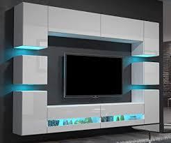 home direct heidi n36 weiß modernes wohnzimmer wohnwand