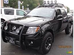 100 Nisson Trucks Black Nissan Frontier With Brush Guard And Wilderness Roof Rack