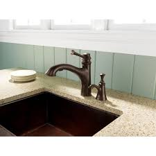 Brizo Kitchen Faucet Leaking by Faucet Com 63005lf Bz In Brilliance Brushed Bronze By Brizo
