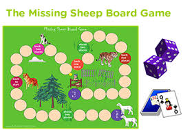 Missing Sheep Board Game For Kids Printable Ideas