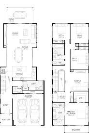 floor plan floor plan design narrow house plans narrow