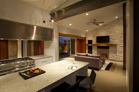 modern ceiling fans with lights hall contemporary with high