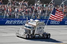 The Story Of How Old Glory Started Making Laps At Talladega ... Weekend Schedule For Talladega Surspeedway Pure Thunder Racing No 22 Truck Will Have A Trumppence Paint Scheme Todd Gliland Goes Wild Ride Nascarcom Fr8auctions Set To Become Eitlement Sponsor Of Truck Bad Boy Mowers Returns To With Make Motsports Lyons Pairs Reaume For Race Speed Sport Free Friday Mechanical Woes Knock Chase Briscoe Out Series Playoffs At Kvapils Good Run Ends In The Big One At New Nascar Flaps Malfunctioning Select Teams News 2014 Freds 250 Camping World