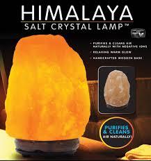 Himalayan Ionic Salt Lamp by Himalayan Salt Lamp As Seen On Tv Products Shop Bedbathhome Com