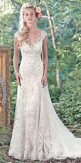 Aliexpresscom Buy Vintage V Neck Lace Wedding Dresses Rustic