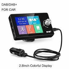 lexxson dab adapter für autoradio 2 8 buntes display