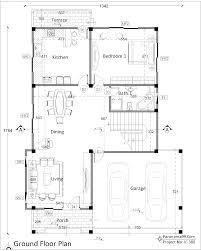 Modern Houseplans V 380 44x58 Two Story House Plan 4200 Sq Ft Duplex Modern