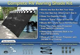 Amazon.com: RV Awning Shade Complete Kit 8'x20' (Black): Sports ... Cheap Rv Awning Fabric Under How To Replace An Patio New Replacement For Campers News Blog Hacks Improve Any Trip Monstaliner On My Roof Pupportal A E Awnings More Fabrics Chrissmith Coleman Pop Up Camper Popup Window Bag 53 Best 1988 Georgie Boy Cruise Master Motorhome 28 Ft Images Camper Awning Used Bromame Diy Inexpensive Pop Up Pinterest