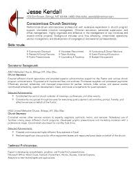 free church resume exle